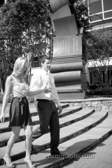 Charlotte Engagement Photography - Matt and Liz's Uptown Charlotte Engagement Session